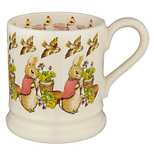Buy Emma Bridgewater Flopsy Mug, Pink Online at johnlewis.com