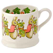 Buy Emma Bridgewater Flopsy Baby Mug, Pink Online at johnlewis.com