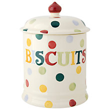 Buy Emma Bridgewater Polka Dot Biscuit Jar Online at johnlewis.com
