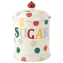 Buy Emma Bridgewater Polka Dot Sugar Jar Online at johnlewis.com