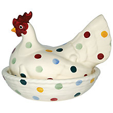 Buy Emma Bridgewater Polka Dot Hen On Nest Bowl Online at johnlewis.com