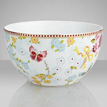 Buy PiP Studio Chinese Rose Bowl, Dia.15cm Online at johnlewis.com