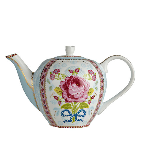 Buy PiP Studio Chinese Rose Teapot, 0.75L Online at johnlewis.com