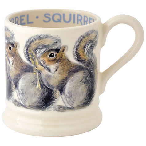 Buy Emma Bridgewater Grey Squirrel Mug, 0.3L Online at johnlewis.com