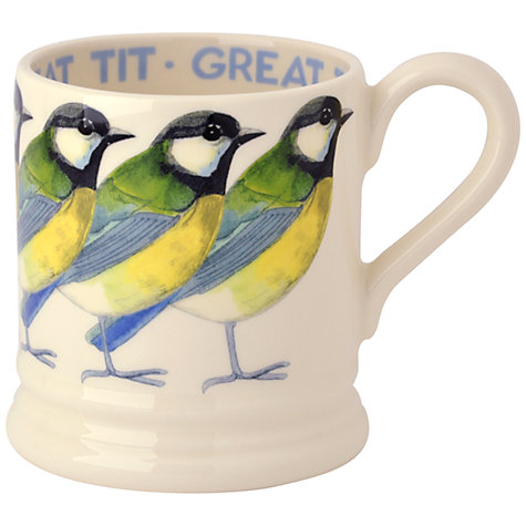 Buy Emma Bridgewater Great Tit Mug, 0.3L Online at johnlewis.com