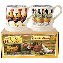 Buy Emma Bridgewater Hen Mugs, Set of 2 Online at johnlewis.com