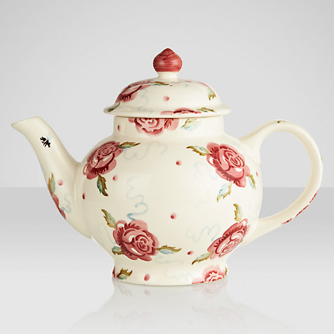 Buy Emma Bridgewater Rose & Bee Teapot, 1.4L Online at johnlewis.com