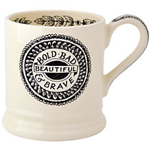 Buy Emma Bridgewater Black Toast Bold and Beautiful Mug Online at johnlewis.com