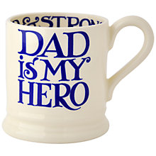 Buy Emma Bridgewater Dad Is My Hero Mug, 0.3L Online at johnlewis.com