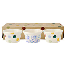 Buy Emma Bridgewater Polka Dot Ramekins, Set of 3 Online at johnlewis.com
