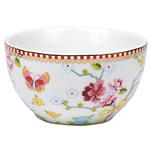 Buy PiP Studio Chinese Rose Bowl, Dia.10cm Online at johnlewis.com