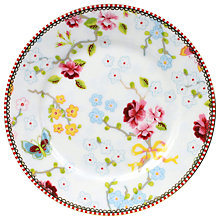 Buy PiP Studio Chinese Rose Side Plate, Dia.17cm Online at johnlewis.com