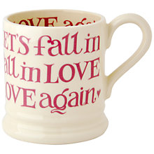 Buy Emma Bridgewater Fall In Love Again Mug Online at johnlewis.com