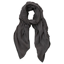 Buy Mint Velvet Eyelet Trim Scarf Online at johnlewis.com