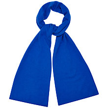Buy Jaeger Plain Knit Cashmere Scarf Online at johnlewis.com