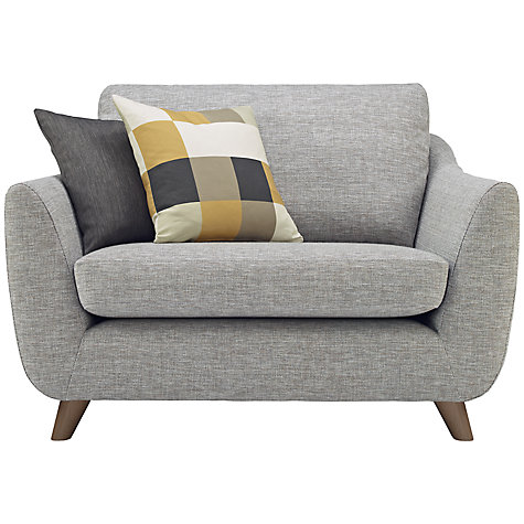 Buy G Plan Vintage The Sixty Seven Snuggler, Marl Grey Online at johnlewis.com