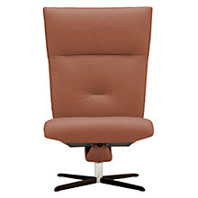 Buy Fjords motionconcept Ascari High Leather Recliner Chair with Chrome Base Online at johnlewis.com