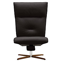 Buy Fjords motionconcept Ascari High Leather Recliner Chair with Natural Base Online at johnlewis.com