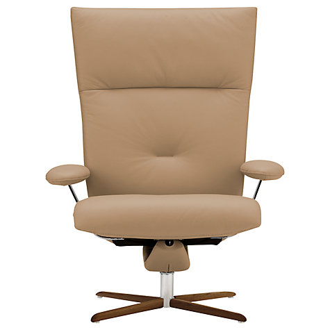 Buy Fjords motionconcept Ascari High Leather Recliner Armchair with Nature Base Online at johnlewis.com