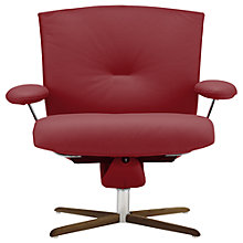 Buy Fjords motionconcept Ascari Low Leather Recliner Armchair with Nature Base Online at johnlewis.com