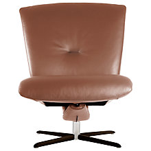 Buy Fjords motionconcept Ascari Low Leather Recliner Chair with Espresso Base Online at johnlewis.com