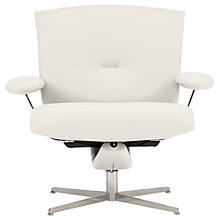 Buy Fjords motionconcept Ascari Low Leather Recliner Armchair with Chrome Base Online at johnlewis.com