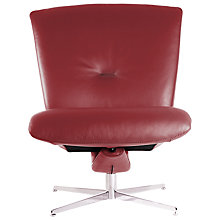 Buy Fjords motionconcept Ascari Low Leather Recliner Chair with Chrome Base Online at johnlewis.com