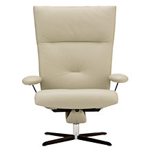 Buy Fjords motionconcept Ascari High Leather Recliner Armchair with Chrome Base Online at johnlewis.com