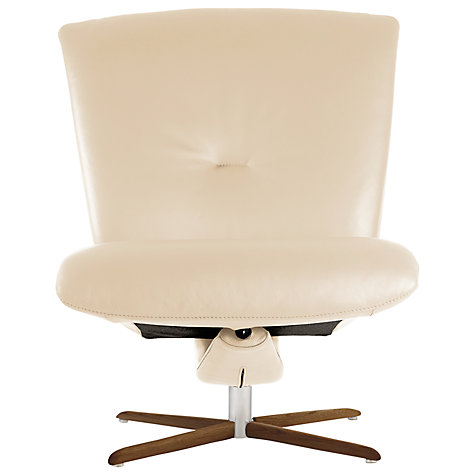 Buy Fjords motionconcept Ascari Low Leather Recliner Chair with Nature Base Online at johnlewis.com