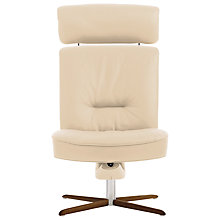 Buy Fjords motionconcept Bordini High Leather Recliner Chair with Nature Base Online at johnlewis.com