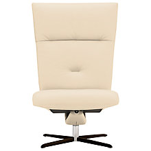 Buy Fjords motionconcept Ascari High Leather Recliner Chair with Espresso Base Online at johnlewis.com