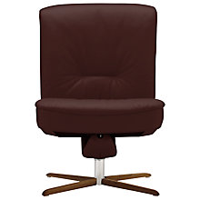 Buy Fjords motionconcept Bordini Low Leather Recliner Chair with Nature Base Online at johnlewis.com