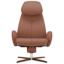 Buy Fjords motionconcept Imola High Leather Recliner Armchair with Nature Base Online at johnlewis.com