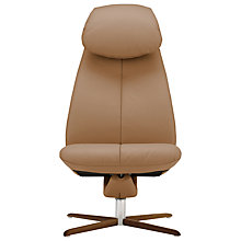 Buy Fjords motionconcept Imola High Leather Recliner Chair with Nature Base Online at johnlewis.com
