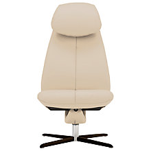 Buy Fjords motionconcept Imola High Leather Recliner Chair with Espresso Base Online at johnlewis.com