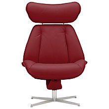 Buy Fjords motionconcept Tazio High Leather Recliner Chair with Chrome Base Online at johnlewis.com