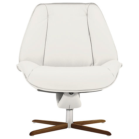 Buy Fjords motionconcept Tazio Low Leather Recliner Chair with Nature Base Online at johnlewis.com