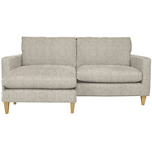 Buy John Lewis Bailey LHF Loose Cover Chaise End Sofa, Price Band C Online at johnlewis.com