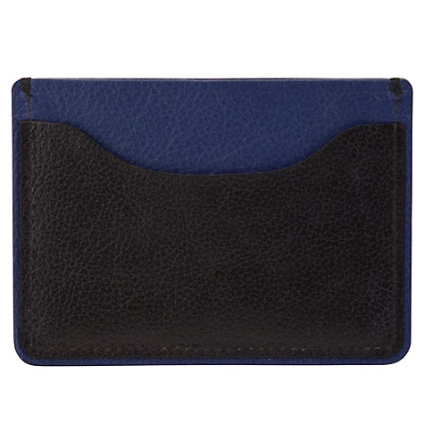 Buy Kin by John Lewis Colour Block Card Holder, Black Online at johnlewis.com
