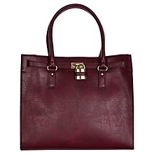 Buy Warehouse Padlock Shopper, Berry Online at johnlewis.com