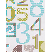 Buy Galerie Jumbled Numbers Wallpaper Online at johnlewis.com