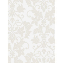 Buy Galerie Leaf Damask Vinyl Wallpaper Online at johnlewis.com