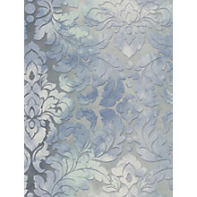 Buy Galerie Mottled Damask Vinyl Wallpaper Online at johnlewis.com