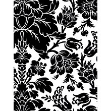 Buy Galerie Floral Damask Vinyl Wallpaper Online at johnlewis.com