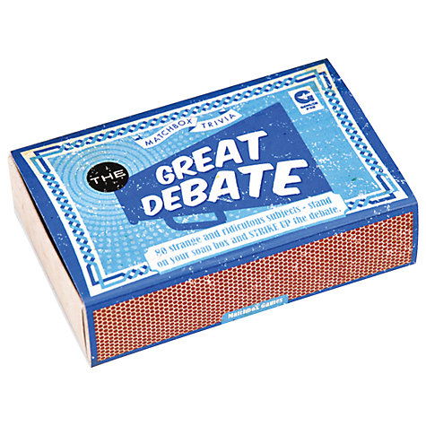 Buy Matchbox Great Debate Online at johnlewis.com