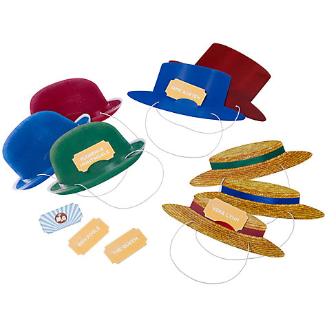 Buy Talking Tables Ministry of Games Hats On! Online at johnlewis.com