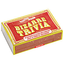 Buy Matchbox Bizarre Trivia Online at johnlewis.com