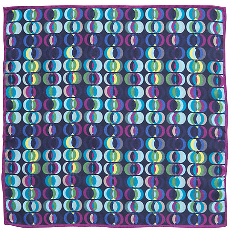 Buy John Lewis Opus Print Pocket Square, Multi Online at johnlewis.com