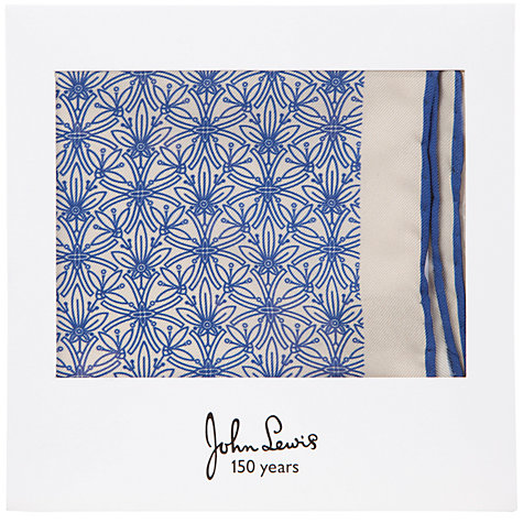 Buy John Lewis Cummersdale Print Pocket Square Online at johnlewis.com