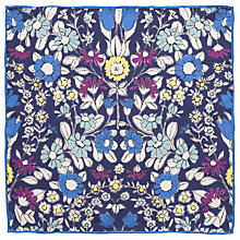Buy John Lewis Daisychain Print Pocket Square Online at johnlewis.com